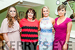 North Kerry Harriers Ball : Attending the North Kerry Harriers Hunt Ball at the Listowel Arms Hotel on Saturday night last were Aoife Foley, Carina Foley, Amy Carmody & Marie O'Halloran.