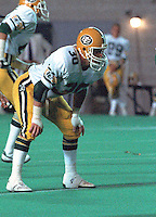 Danny Bass Edmonton Eskimos 1985. Photo Scott Grant