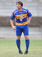 Ricki Mackin of Romford - Romford vs Aveley - Pre-Season Friendly Match at Mill Field, Aveley FC - 31/07/10 - MANDATORY CREDIT: Gavin Ellis/TGSPHOTO - Self billing applies where appropriate - Tel: 0845 094 6026