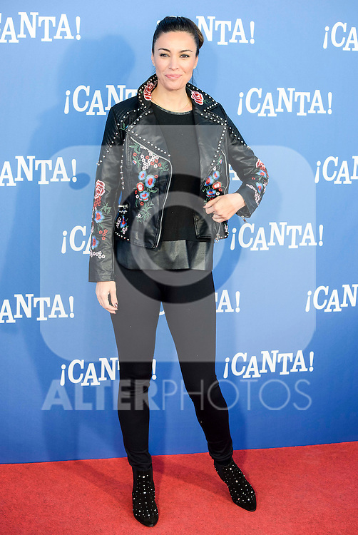 "Maria Jose Besora attends to the premiere of the film ""¡Canta!"" at Cines Capitol in Madrid, Spain. December 18, 2016. (ALTERPHOTOS/BorjaB.Hojas)"