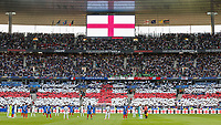 The Teams stand in remembrance of those who lost there lives in the British terror attacks during the International Friendly match between France and England at Stade de France, Paris, France on 13 June 2017. Photo by David Horn/PRiME Media Images.