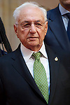 Frank Gehry attended an audience with Principe de Asturias Awards 2014 winners at the Reconquista Hotel on October 24, 2014 in Oviedo, Spain. (POOL/ALTERPHOTOS)