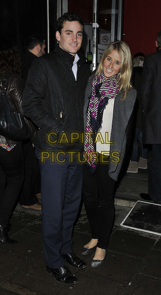 LONDON, ENGLAND - FEBRUARY 24: Nick Lawson &amp; Fawn James attend the &quot;The A-Z of Mrs P&quot; press night, Southwark Playhouse Theatre, Newington Causeway, on Monday February 24, 2014 in London, England, UK.<br /> CAP/CAN<br /> &copy;Can Nguyen/Capital Pictures