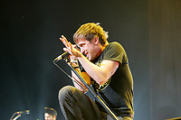 Billy Talent in concert <br /> <br /> No Sales in Canada until February 7 2007 <br /> <br /> Billy Talent is a young band just releasing their second album. While II is the Toronto-based quartet's sophomore record, the number hardly seems appropriate for this group of friends that first began this journey 13 years ago. And it's those years of grounded experience that kept them from sacrificing II to the dreaded second album curse.<br /> photo :  Images Distribution