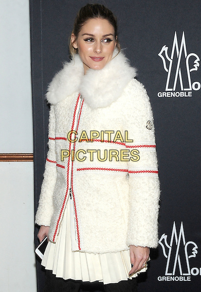 NEW YORK, NY - FEBRUARY 14: Olivia Palermo attends the Moncler Grenoble fashion show during 2017 New York Fashion Week at The Hammerstein Ballroom on February 14, 2017 in New York City.   <br /> CAP/MPI/JP<br /> &copy;JP/MPI/Capital Pictures