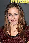 Alicia Silverstone attending the Broadway Opening Night Performance After Party for 'The Performers' at E-Space in New York City on 11/14/2012