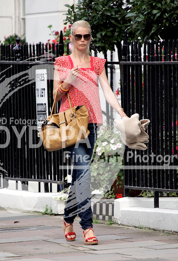 LONDON <br /> EXCLUSIVE PICTURES BY:<br /> JUSTIN-ROB KEARNEY/EAGLEPRESS<br /> PLEASE CREDIT ALL USES<br /> ----------------------------------<br /> CLAUDIA SCHIFFER LOOKING VERY THIN AS SHE LEAVES PRIVATES DOCTORS IN HARLEY STREET<br /> ----------------------------------<br /> CONTACT:  JAVIER MATEO <br /> 16 NORTH POLE ROAD<br /> LONDON W10 6QL<br /> MOBILE: +44 778651 4443<br /> EMAIL: photos@eaglephoto.co.uk