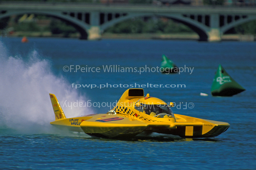 """George Stratton, GP-12 """"Wild Fire"""", Detroit 1998"""