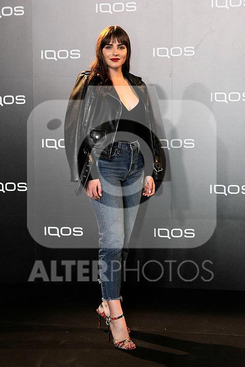 Andrea Duro attends to IQOS3 presentation at Palacio de Cibeles in Madrid. February 10,2019. (ALTERPHOTOS/Alconada)