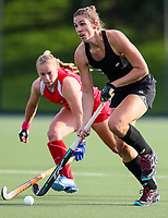 Brooke Neal. International Hockey Warmup game, Blacksticks women v Chile.Auckland Grammar Hockey Turf, Auckland, New Zealand. Thursday 13 December 2018. Photo: Simon Watts/Hockey NZ