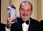 Billionaire Carlos Slim Helú's global leadership award