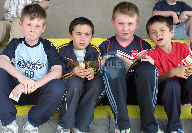 Killian Grant, Ali Erdogan, Rory Grant and Sulryman Erdogan at the 1st Day of the 2009 Bellewstown Races...Photo NEWSFILE/Jenny Matthews.(Photo credit should read Jenny Matthews/NEWSFILE)....This Picture has been sent you under the condtions enclosed by:.Newsfile Ltd..The Studio,.Millmount Abbey,.Drogheda,.Co Meath..Ireland..Tel: +353(0)41-9871240.Fax: +353(0)41-9871260.GSM: +353(0)86-2500958.email: pictures@newsfile.ie.www.newsfile.ie.FTP: 193.120.102.198.