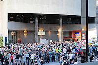 SÃO PAULO, SP - 22.06.2013: MANIFESTAÇÃO PEC 37 - Manifestantes contra a PEC 37 lotam a Av Paulista a minefestação teve inicio em frente ao Trianon Masp e já chega a Rua Augusta em São Paulo neste sabado (22). (Foto: Marcelo Brammer/Brazil Photo Press)
