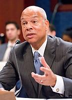 Former United States Secretary of Homeland SecurityJeh Johnson Testifies Before the US House Permane