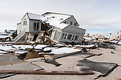 Long Beach Island, New Jersey..November 8, 2012....Hurricane Sandy damage along the shore.