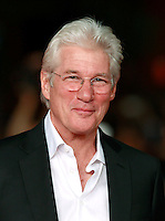 "L'attore statunitense Richard Gere posa sul red carpet per la presentazione del film ""Time Out of Mind"" al Festival Internazionale del Film di Roma, 19 ottobre 2014.<br /> U.S. actor Richard Gere poses on the red carpet to present the movie ""Time Out of Mind"" during the international Rome Film Festival at Rome's Auditorium, 19 October.<br /> UPDATE IMAGES PRESS/Isabella Bonotto"