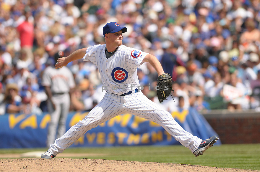CHAD GAUDIN, or the Chicago Cubs, in action during the Cubs game against the San Francisco Giants in Chicago, IL on July 13, 2008.   ..Giants win 3-1