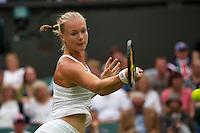 London, England, 2 July, 2016, Tennis, Wimbledon, Kiki Bertens (NED) <br /> Photo: Henk Koster/tennisimages.com