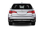Straight rear view of 2017 Acura mdx Base 5 Door SUV stock images