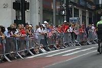 Nova York (EUA), 10/07/2019 - Publico aguarda a chegada da seleção feminina de futebol dos Estados Unidos atual campeão da Copa do Mundo de Futebol Feminino 2019 na cidade de Nova York nesta quarta-feira, 10. (Foto: William Volcov/Brazil Photo Press)