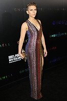 WWW.ACEPIXS.COM<br /> <br /> <br /> March 29, 2017 New York City<br /> <br /> Actress Scarlett Johansson arriving at  the 'Ghost In The Shell' premiere hosted by Paramount Pictures and DreamWorks Pictures at AMC Lincoln Square theater on March 29 2017 in New York City. <br /> <br /> <br /> Please byline: Nancy Rivera/ACE Pictures<br /> <br /> ACE Pictures, Inc.<br /> www.acepixs.com, Email: info@acepixs.com<br /> Tel: 646 769 0430