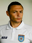 Micky Long, Yorkshire Team Coach. Yorkshire v Parishes of Jersey, CONIFA Heritage Cup, Ingfield Stadium, Ossett. Yorkshire's first competitive game. The Yorkshire International Football Association was formed in 2017 and accepted by CONIFA in 2018. Their first competative fixture saw them host Parishes of Jersey in the Heritage Cup at Ingfield stadium in Ossett. Yorkshire won 1-0 with a 93 minute goal in front of 521 people.