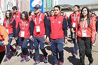 Cocha 2018 Izamiento Bandera Chile