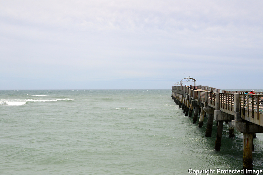 Lake Worth Fishing Pier, Lake Worth, Florida.<br />
