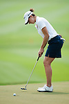 CHON BURI, THAILAND - FEBRUARY 17:  Paige Mackenzie of USA putts on the 17th green during day two of the LPGA Thailand at Siam Country Club on February 17, 2012 in Chon Buri, Thailand.  Photo by Victor Fraile / The Power of Sport Images