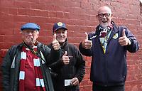 Fans pre match<br /> <br /> Photographer Rachel Holborn/CameraSport<br /> <br /> The Premier League - Everton v Burnley - Sunday 1st October 2017 - Goodison Park - Liverpool<br /> <br /> World Copyright &copy; 2017 CameraSport. All rights reserved. 43 Linden Ave. Countesthorpe. Leicester. England. LE8 5PG - Tel: +44 (0) 116 277 4147 - admin@camerasport.com - www.camerasport.com