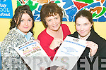 Courses: Rachel Wilmott and Sarah Coffey, Listowel with Mary Lynch of the Listowel KDYS (centre) who are promoting their new range of courses for teens at the Listowel centre.