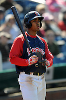 Portland Sea Dogs shortstop Xander Bogaerts #7 during a game versus the New Britain Rock Cats at Hadlock Field in Portland, Maine on April 21, 2013.(Ken Babbitt/Four Seam Images)