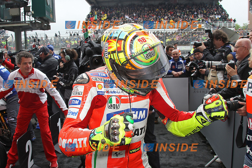 © Insidefoto/Semedia.20-05-2012 Le Mans (FRA).Motogp - motogp.in the picture: Valentino Rossi - Ducati team