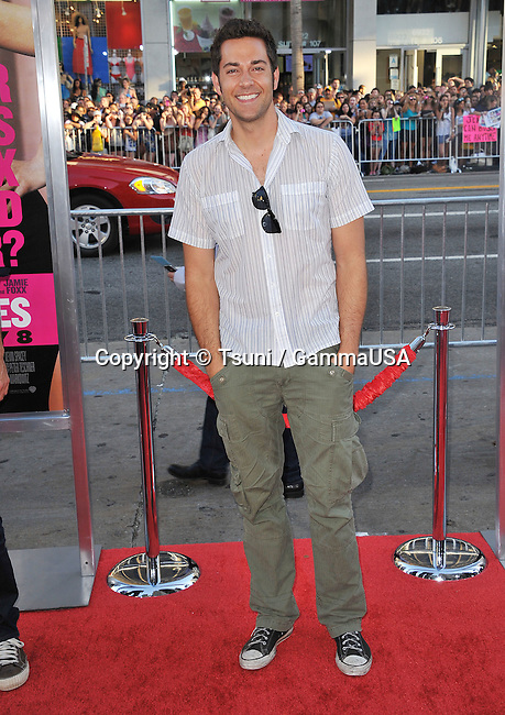 Zachary Levi  arriving The Horrible Bosses Premiere at the Chinese Theatre In Los Angeles.