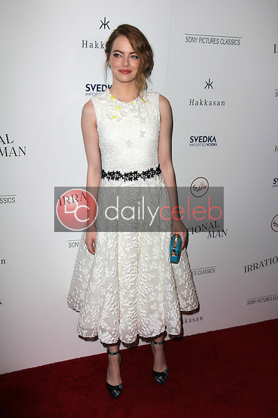 Emma Stone<br /> at the &quot;Irrational Man&quot; LA Premiere, WGA Theater, Beverly Hills, CA 07-09-15<br /> David Edwards/DailyCeleb.Com 818-249-4998