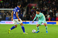 Ilias Chair of Queens Park Rangers in action during the Sky Bet Championship match between Cardiff City and Queens Park Rangers at the Cardiff City Stadium in Cardiff, Wales, UK. Wednesday 02 October, 2019