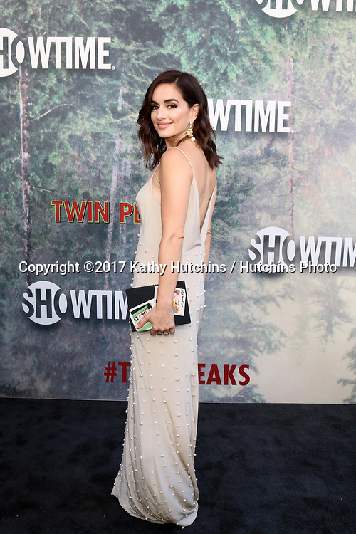 """LOS ANGELES - MAY 19:  Ana de la Reguera at the """"Twin Peaks"""" Premiere Screening at The Theater at Ace Hotel on May 19, 2017 in Los Angeles, CA"""