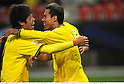 (L-R) Hiroki Sakai,  Leandro Domingues (Reysol), DECEMBER 11, 2011 - Football / Soccer : Leandro Domingues of Kashiwa Reysol celebrates with his teammate Hiroki Sakai after scoring the opening goal during the FIFA Club World Cup Quarterfinal match between Kashiwa Reysol 1(4-3)1 Club de Futbol Monterrey at Toyota Stadium in Aichi, Japan. (Photo by Takamoto Tokuhara/AFLO)