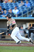 Quad Cities River Bandits infielder Brian Blasik #17 during a game against the Wisconsin Timber Rattlers on May 24, 2013 at Modern Woodmen Park in Davenport, Iowa.  Quad Cities defeated Wisconsin 4-3  (Mike Janes/Four Seam Images)