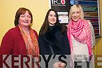 Ann Marie Nic Gearailt (Dingle), Zoe Uí Fhaolain (Feothanach) and Sarah Brosnan (Dingle Bay Hotel) enjoying the Dingle Film Festival over the weekend.