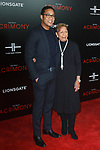 "Journalist Don Lemon and his mother arrive on the red-carpet for the Tyler Perry""s ACRIMONY movie premiere at the School of Visual Arts Theatre in New York City, on March 27, 2018."