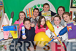 GREEN TEAM: Members of the Knocknasna National School Green Team that were presented with their first Green Flag at the weekend..Front L/r. Kerry Lee Doyle, Brian O'Connor, Shauna Cahill, Megan Meehan, Niamh Healy..Back L/r. Patrick Morrissey, Daire Horgan and Kathryn Kennelly   Copyright Kerry's Eye 2008