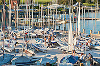 Sailboat rental, Newport, Rhode Island, RI, USA