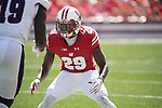 Wisconsin Badgers defensive back Dontye Carriere-Williams (29) during an NCAA College Football game against the Florida Atlantic Owls Saturday, September 9, 2017, in Madison, Wis. The Badgers won 31-14. (Photo by David Stluka)