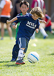 MVLA Soccer Clinic with Coach Ken and Joe Cannon at Almond School, March 20, 2014