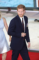 Prince Harry<br /> at the &quot;Dunkirk&quot; World Premiere at Odeon Leicester Square, London. <br /> <br /> <br /> &copy;Ash Knotek  D3289  13/07/2017
