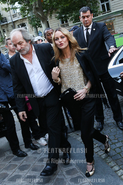 PARIS, FRANCE - JULY 05: Vanessa Paradis arrives at the Vogue Foundation Gala 2016 at Palais Galliera <br /> July 5, 2016  Paris, France<br /> Picture: Kristina Afanasyeva / Featureflash
