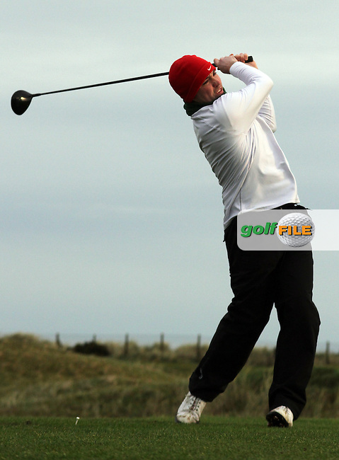 Mark Richards at the Hilary Golf Society at Laytwn and Bettystown Golf Club, Co.Meath...(Photo Jenny Matthews/www.golffile.ie)