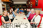 30th birthday : Gerard Molyneaux, Listowel celebrating his 30th birthday with family & friends at Eabha Joan's Restaurant, Listowel on Saturday night last. L-R: Martina Hanrahan, Lisa Buckley, Gerard Molyneaux, Narcella Stackpoole, Neilus Flaherty, Liam Hanrahan, Padraigh Hanrahan, Jacqueline Quilter, Timmy Loughnane, Josh Kelly & Mossie & Josie Molyneaux.