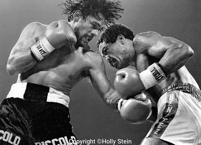 Roberto Duran v. Wilfred Benitez.  Benitez WUD15.  WBC Light Middleweight title.